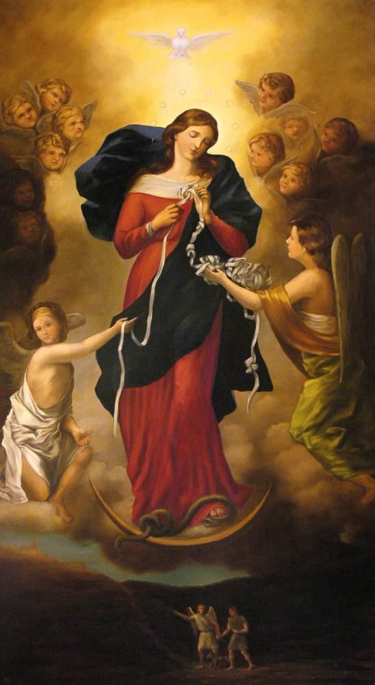 Matka Boża rozwiązująca węzły
