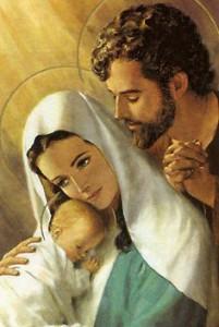św Józef i Maryja